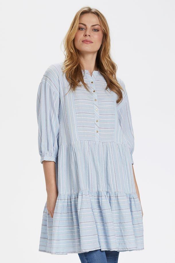Culture kjole i lyseblå