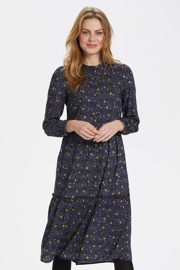 Marineblå kjole fra Bon' A Parte.