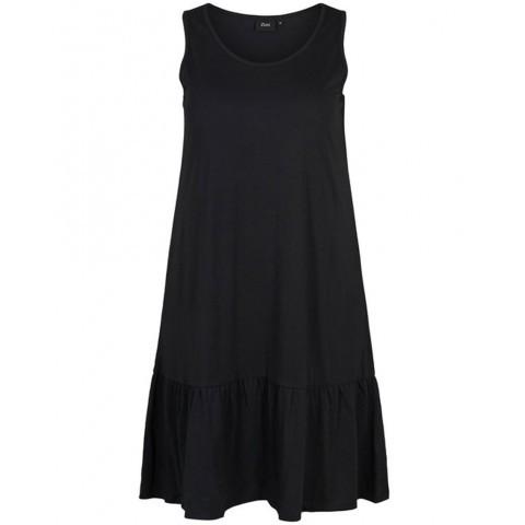 Zizzi kjole sort